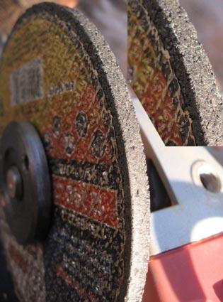 Необходимое оборудование: болгарка, желательно с регулятором оборотов; диск для болгарки, желательно толщиной 5-6мм...
